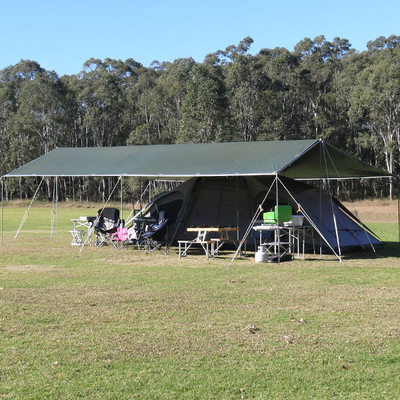 MID KIT EasyTarp is a longer traditional style EasyTarp