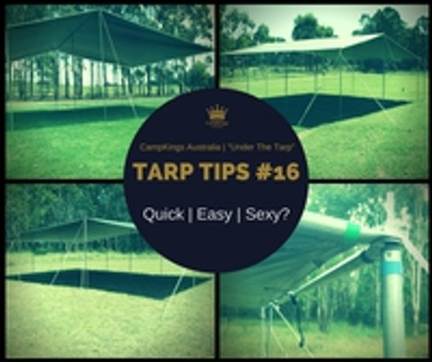 TarpTips#16 | Tarp Kits: Quick | Easy | Sexy?