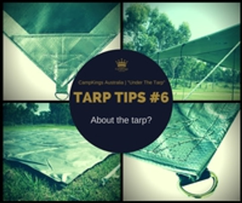 Tarp Tips #6 - About the tarp