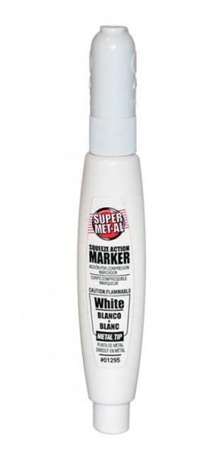 Marker - Super Metal White