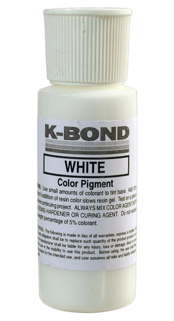 K-Bond White Color - 2oz