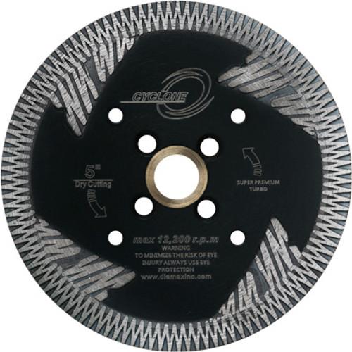 Cyclone Side Segment Turbo Blades