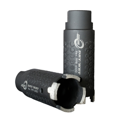 Cyclone Dry/Wet Core Bit W / Side Protection