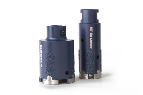 Element T Segment Dry Core Bit W / Side Protection by Apexx