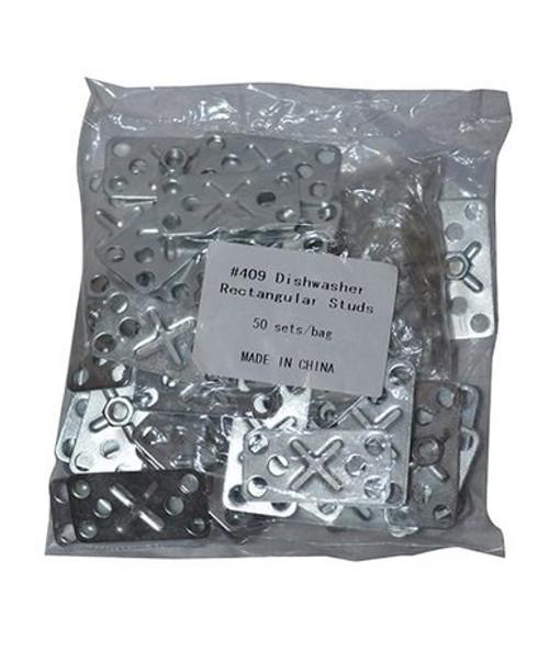 Dishwasher Rectangular Stud - 50/bag