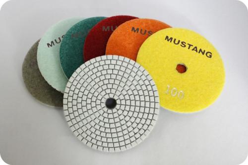 "4"" X Series Engineered Stone Wet Polishing Pad"