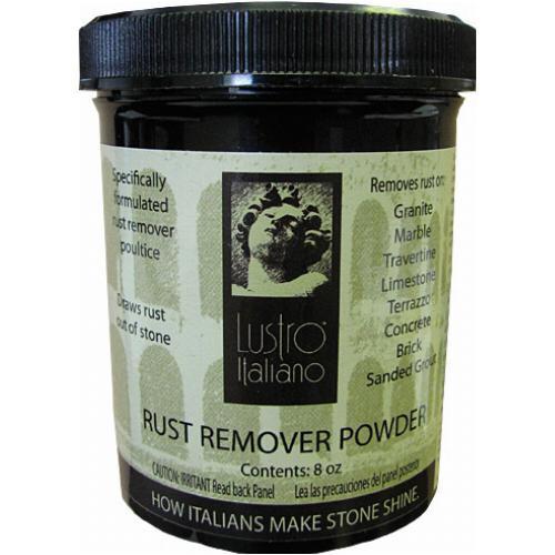 Lustro Italiano Rust Remover 8 oz