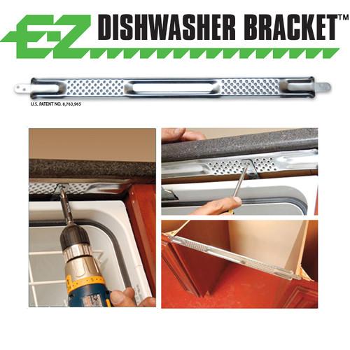 E-Z Dishwasher Bracket™