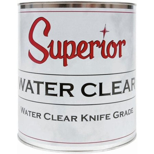 Superior Water Clear Knife Grade Qt