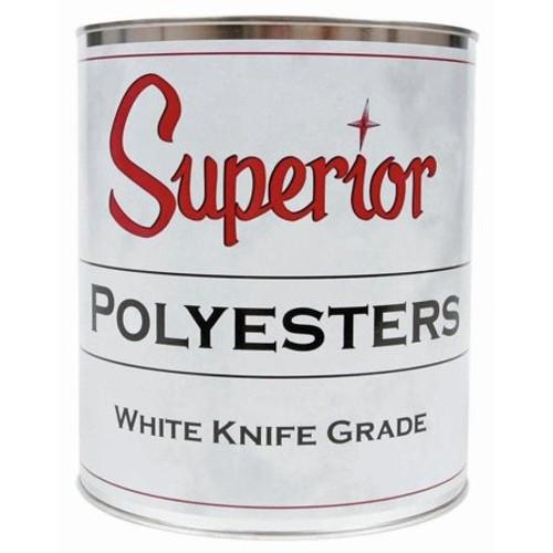 Polyester White Knife Grade 1Qt