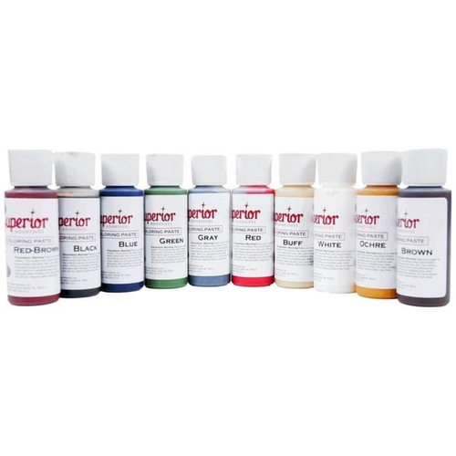 Superior Color Kit 10colors 2oz
