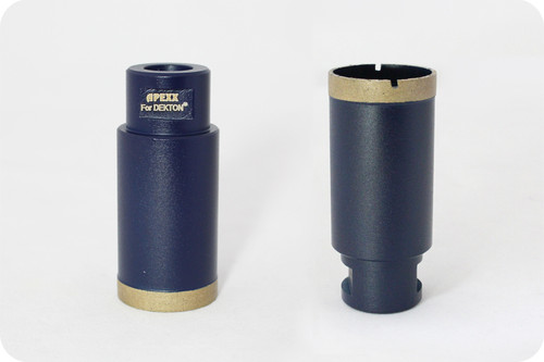 Apexx Thin Wall Core Bits for Ultra-Compact Surfaces