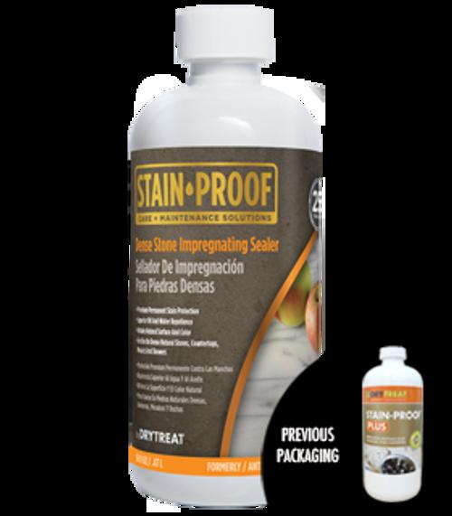 DRY-TREAT - Stain-Proof Plus - Premium Countertop/Dense Impregnating Sealer - 16OZ