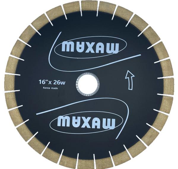 "MAXAW 16"" Bridge Saw Blade Premium Quality Longer Life"