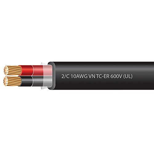 10 AWG 2 Conductor VNTC Tray Cable 600 Volts (UL)