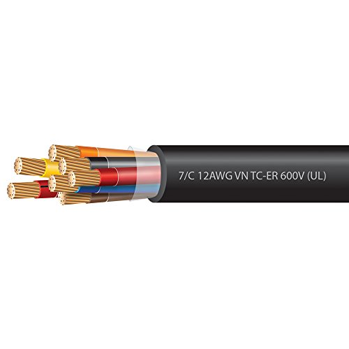 12 AWG 7 Conductor VNTC Tray Cable 600 Volts (UL)