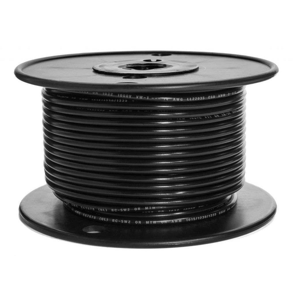 14 AWG UL Approved Marine Grade Primary Tinned Copper Boat Wire Rated 600 Volts