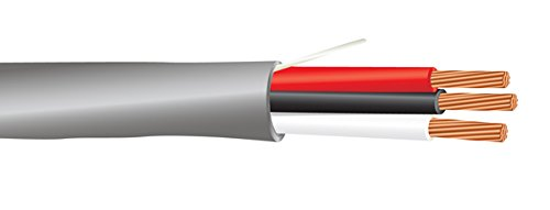 18 AWG 3/C Str CMR Riser Rated Non-Shielded Sound & Security Cable - 1000 Feet