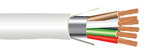 18 AWG 6/C Str CMP Plenum Rated Shielded Sound & Security Cable - 1000 Feet
