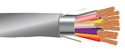 22 AWG 12/C Str CMR Riser Rated Shielded Sound & Security Cable - 1000 Feet