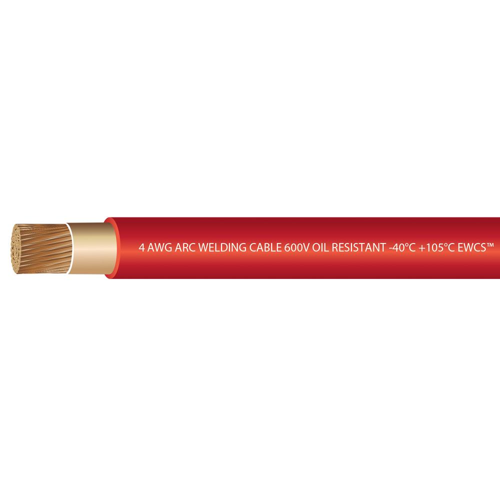 4 Gauge Premium Extra Flexible Welding Cable