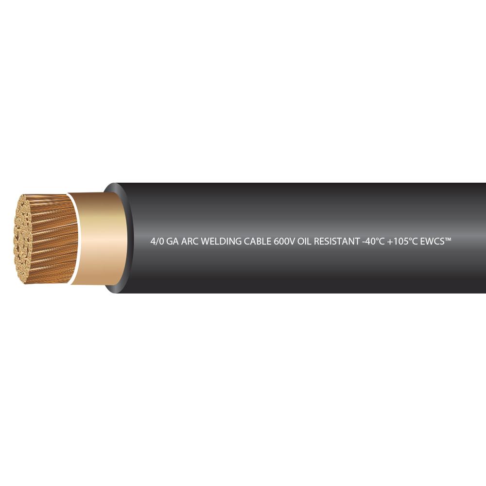 4/0 Gauge Premium Extra Flexible Welding Cable