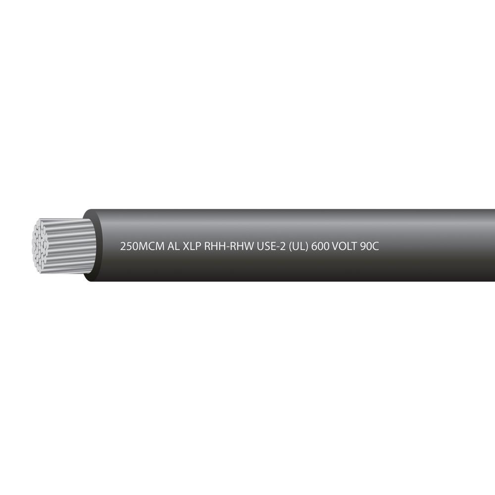 250MCM ALUMINUM USE 600 VOLTS 90C
