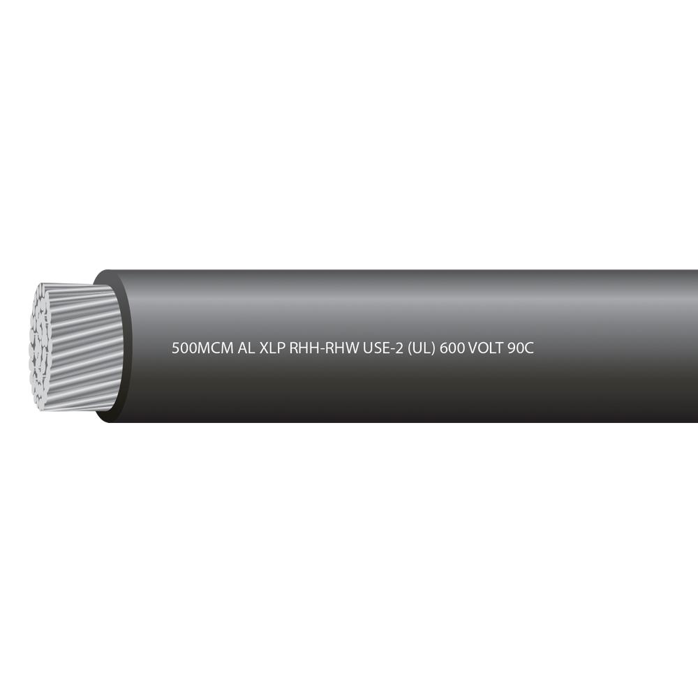 500MCM ALUMINUM USE 600 VOLTS 90C