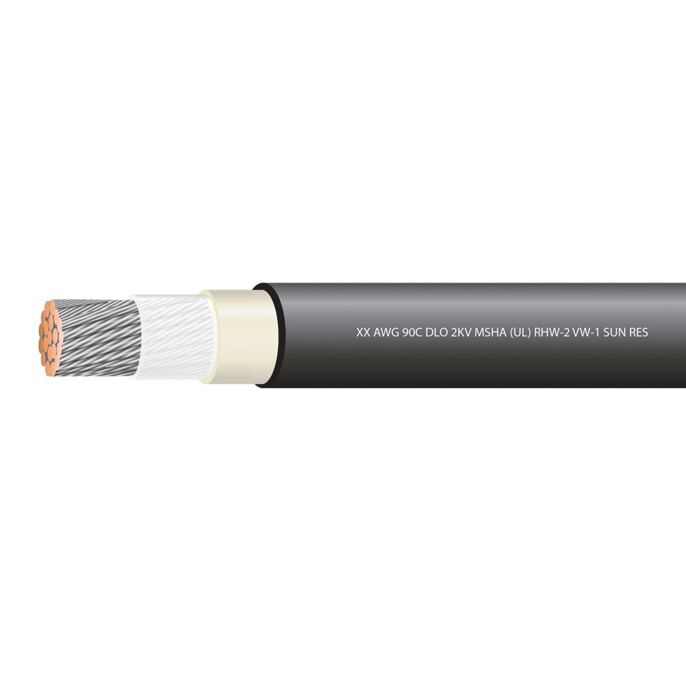 2/0  AWG TYPE DLO 2000 VOLTS