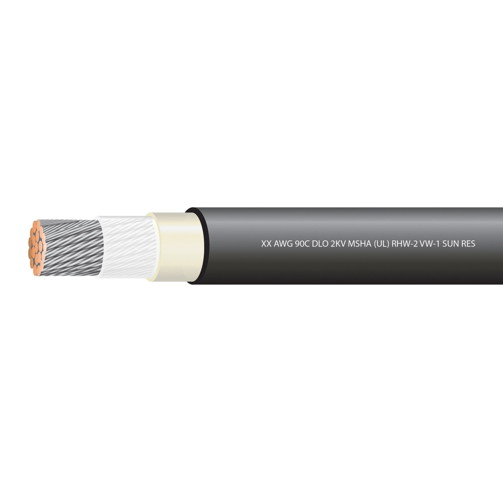 3/0  AWG TYPE DLO 2000 VOLTS