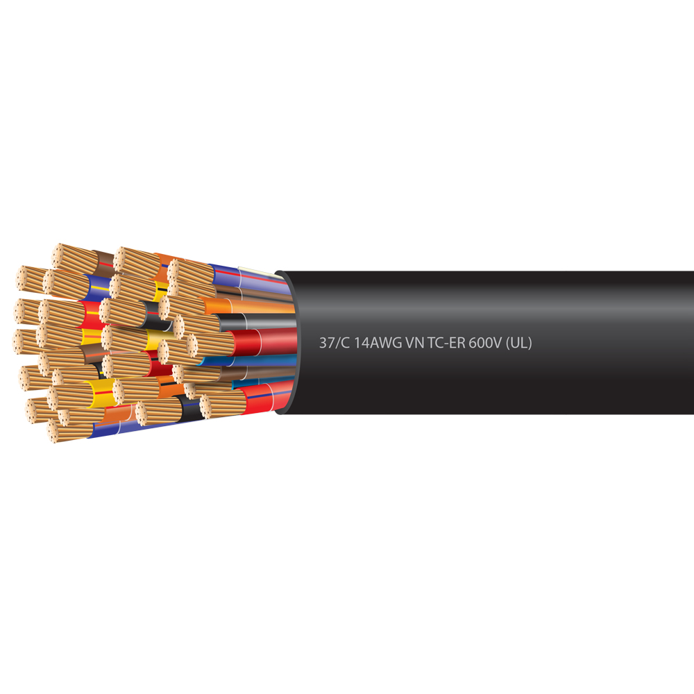 14 AWG 37 Conductor VNTC Tray Cable 600 Volts (UL)