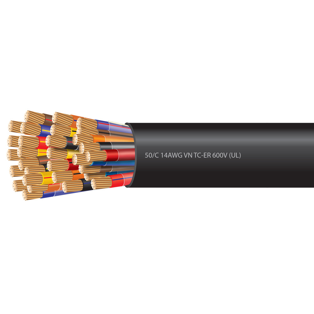 14 AWG 50 Conductor VNTC Tray Cable 600 Volts (UL)