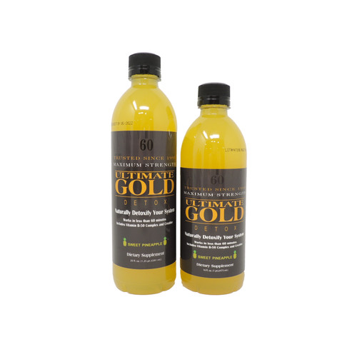 Ultimate Gold Detox - Sweet Pineapple