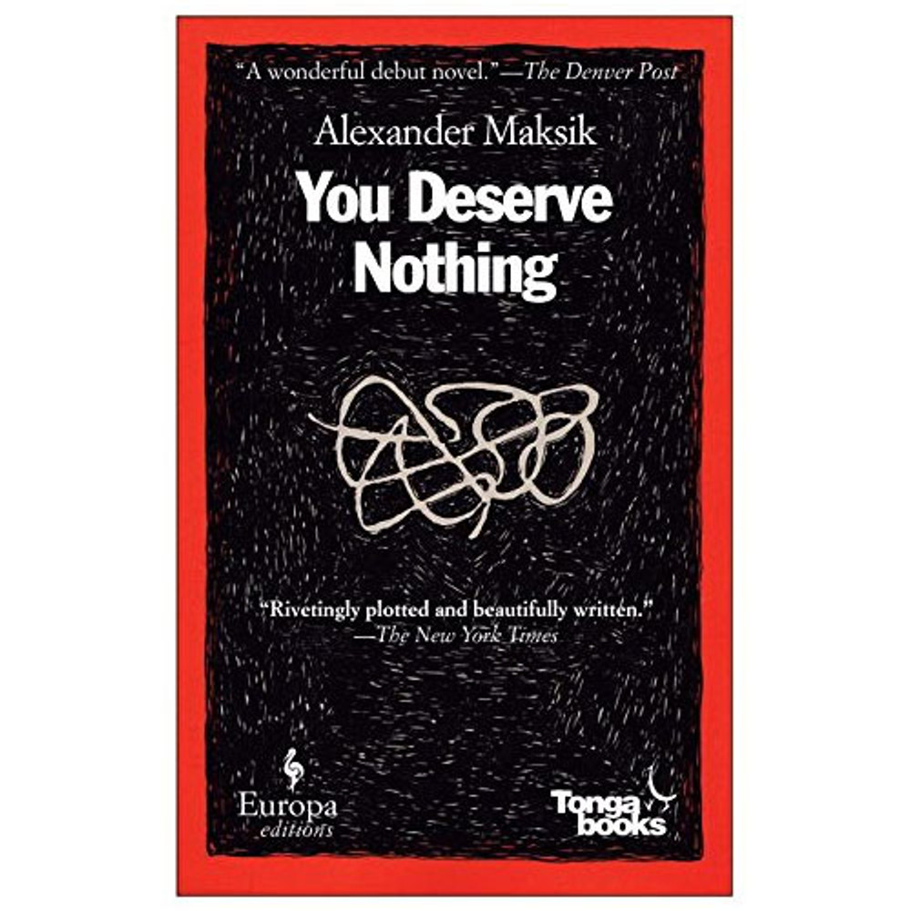 You Deserve Nothing book cover