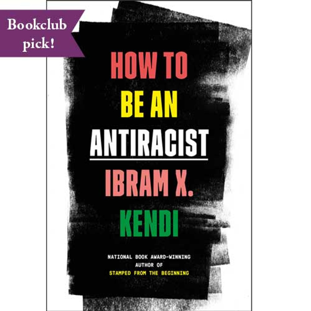How to Be an Antiracist harcover book