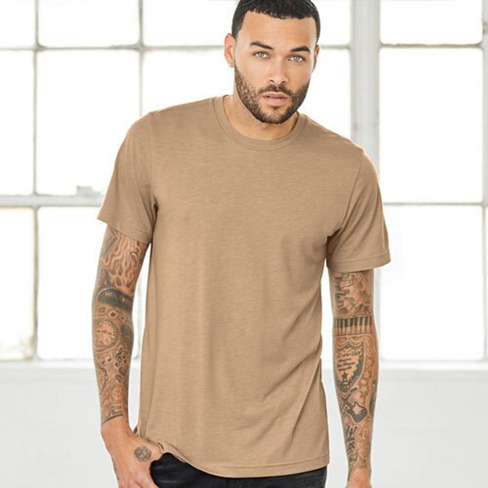 Two Dollar Radio Headquarters shirt unisex fit model