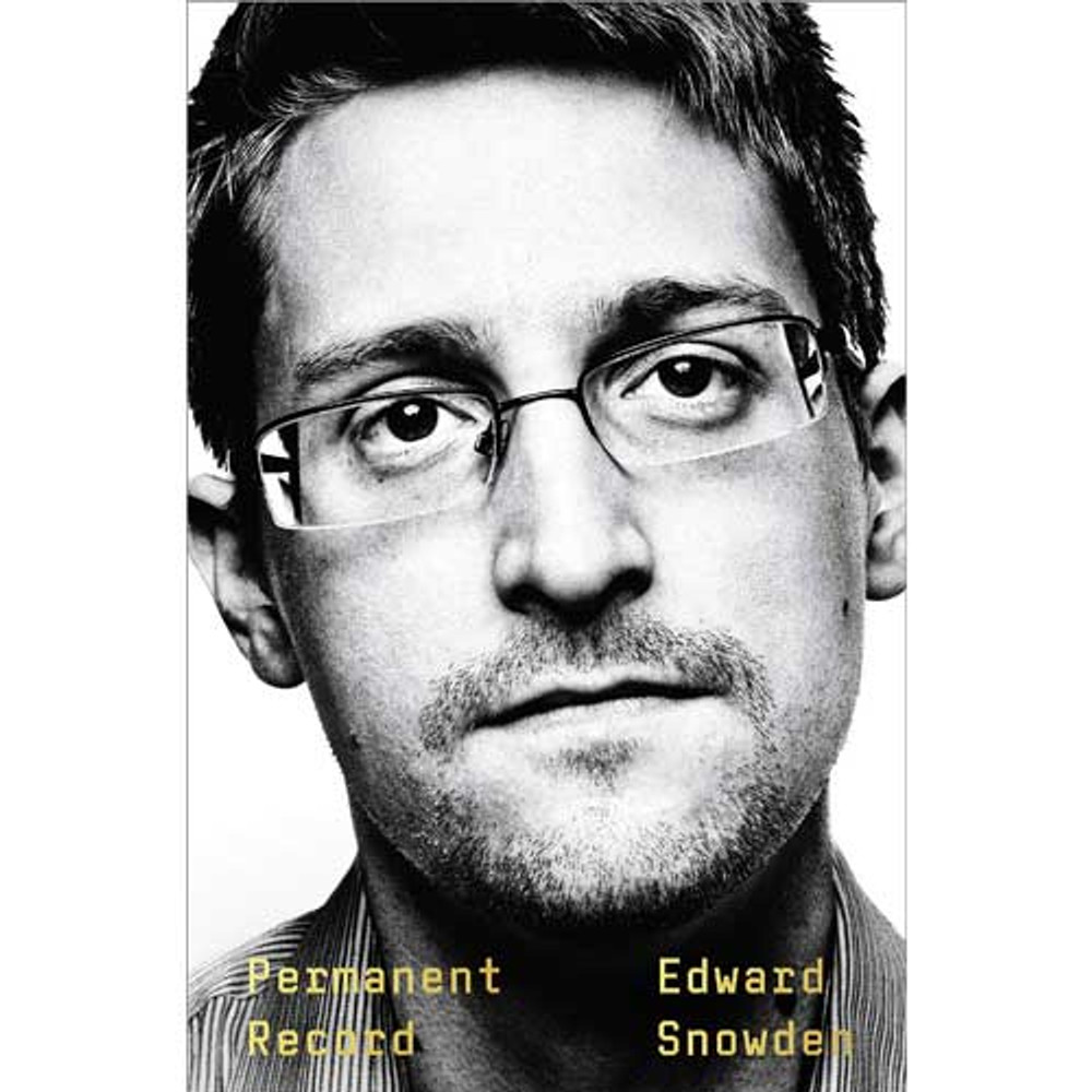 Permanent Record book by Edward Snowden