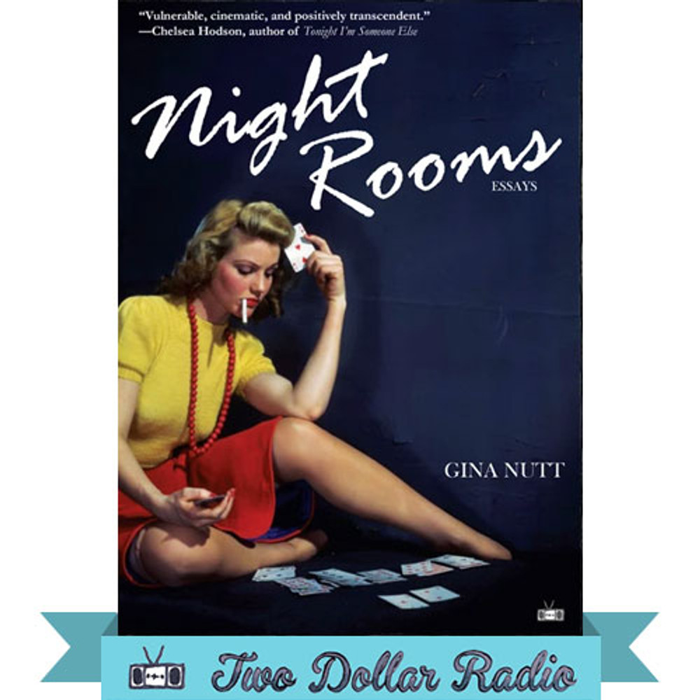 Night Rooms, a collection of essays by Gina Nutt, front cover