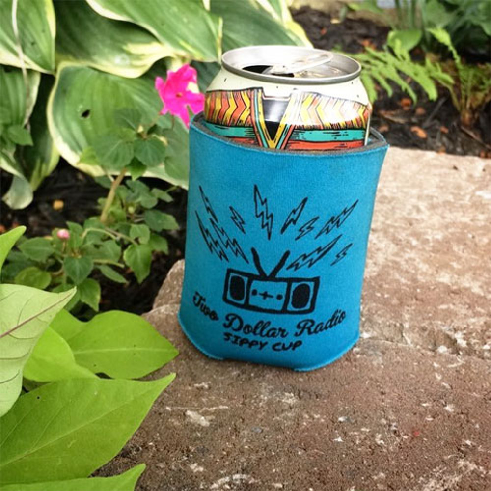 Two Dollar Radio Headquarters blue Sippy Cup koozies