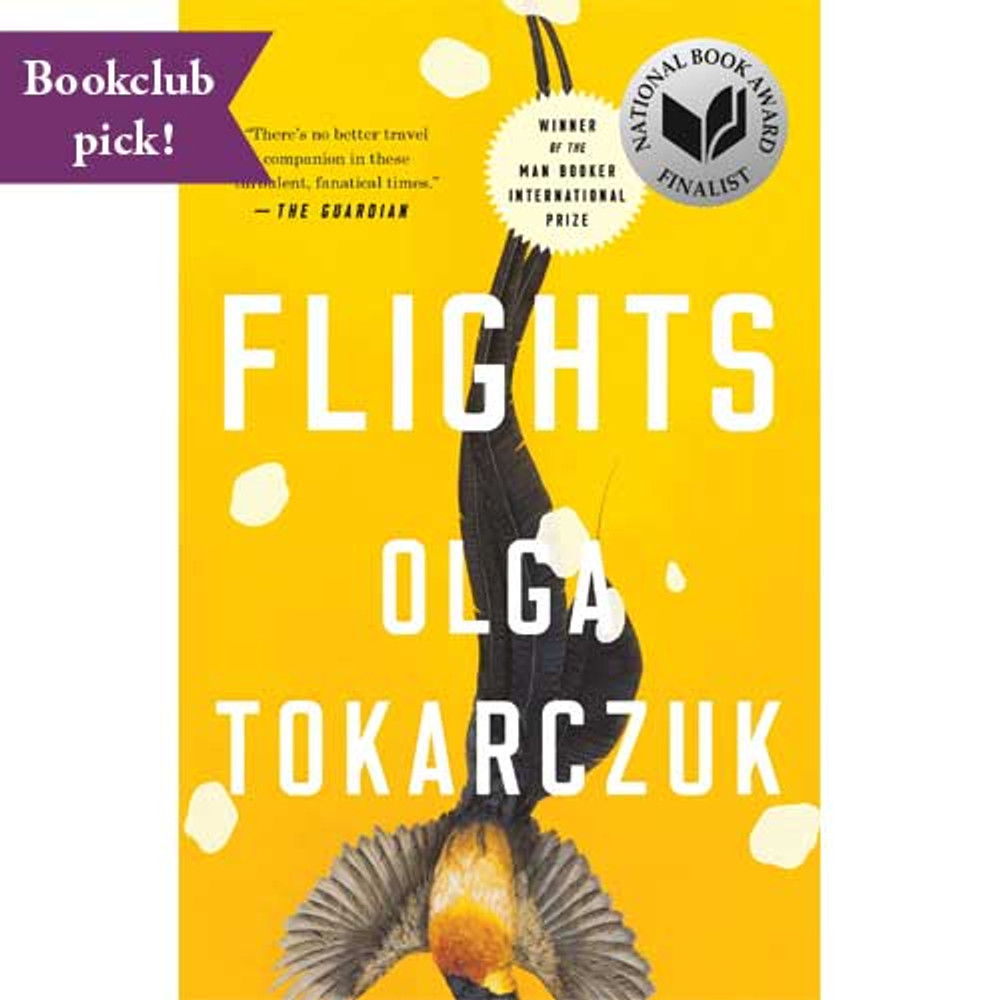 Flights by Olga Tokarczuk.