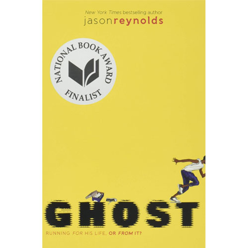 Ghost track book by Jason Reynolds