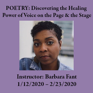Writing Workshops at Two Dollar Radio Headquarters Columbus Ohio: Poetry with Barbara Fant