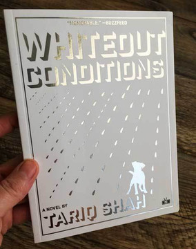 Whiteout Conditions by Tariq Shah silver foil final cover