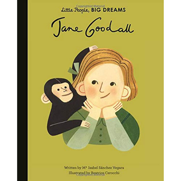 Jane Goodall (Little People, BIG DREAMS) Hardcover