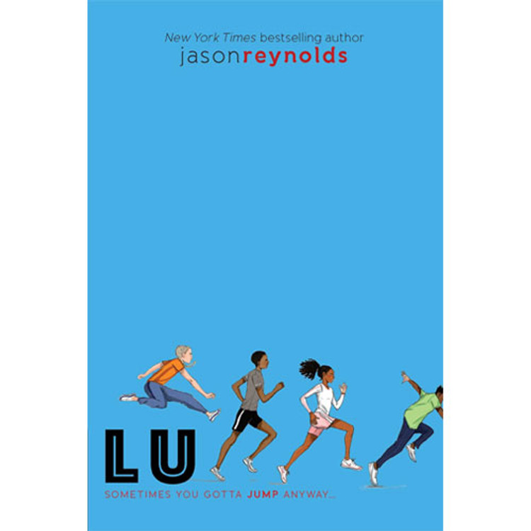 Lu track book by Jason Reynolds