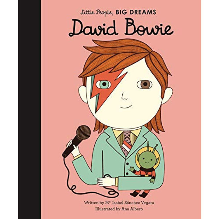 David Bowie (Little People, BIG DREAMS) Hardcover