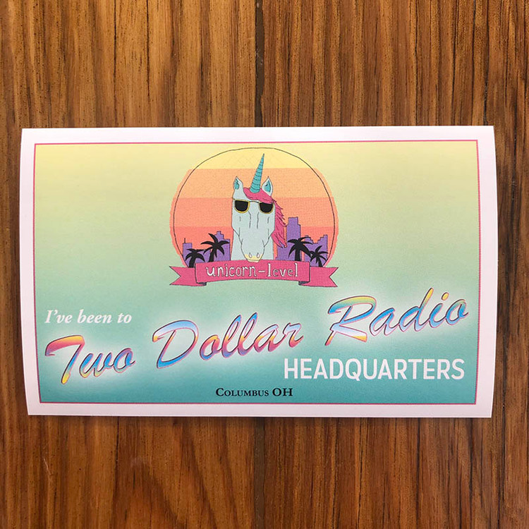 I've Been to Two Dollar Radio HQ Sticker