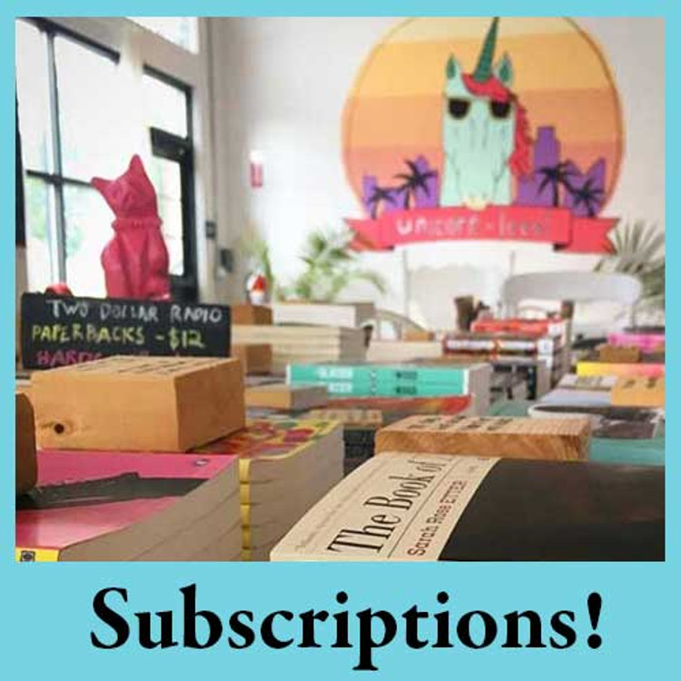 Book subscriptions from Two Dollar Radio Headquarters