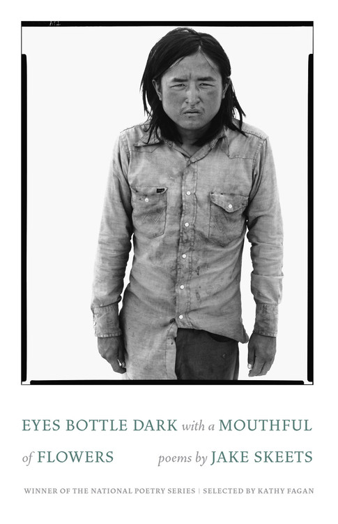 Eyes Bottle Dark with a Mouthful of Flowers