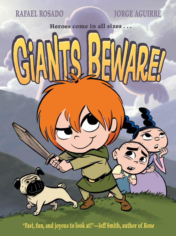 Giants Beware! (The Chronicles of Claudette) by Jorge Aguirre  (Author), Rafael Rosado (Illustrator)